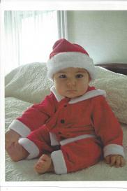 Cutest little Santa