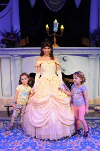 Kids act out the story of Beauty and the Beast at Enchanted Tales with Belle