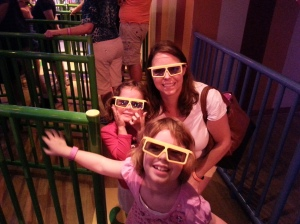 The Toy Story Mania ride lived up to the hype, even for people who never saw the movie and don't like to shoot things
