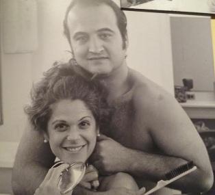 John Belushi and Gilda Radner