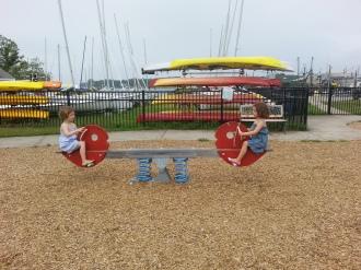 Playground in Stonington, CT