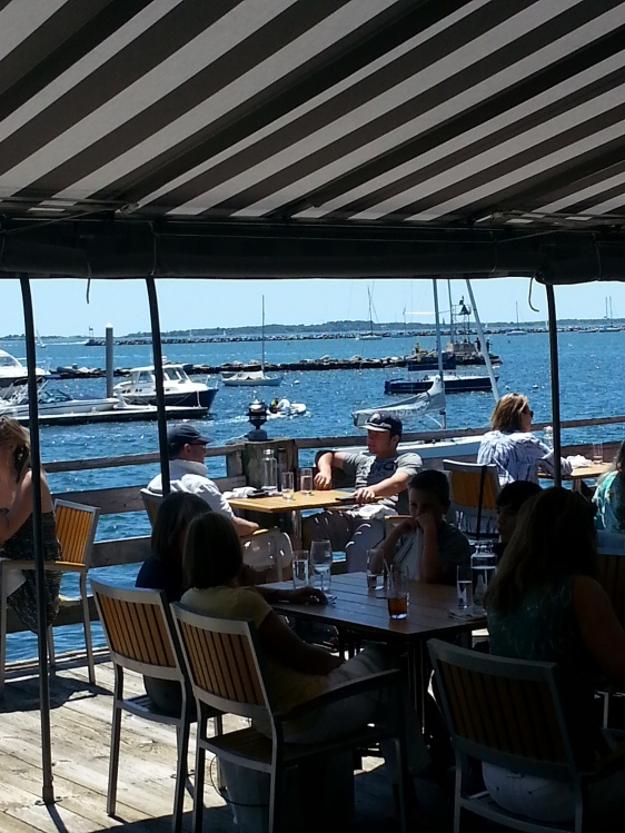 View from Breakwater's, Stonington, CT