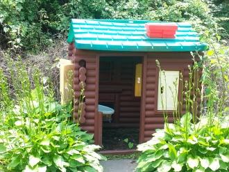 Playhouse in the Secret Garden