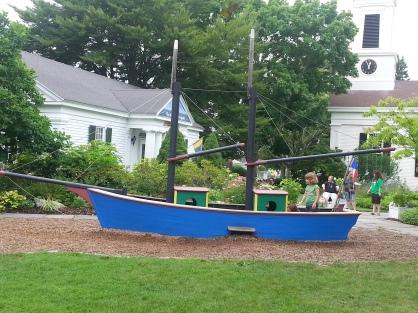 Boat playground
