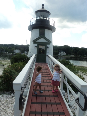 Of course there's a lighthouse here