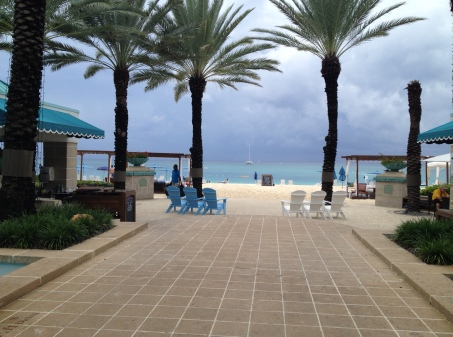 Westin Grand Cayman is right on Seven Mile Beach