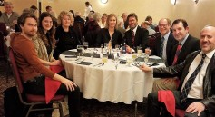 From left: Garrett O'Keefe, Kyra Doumlele, Leigh Grant, Melissa Gow, Peter Gow, Michael Maronich with two friends