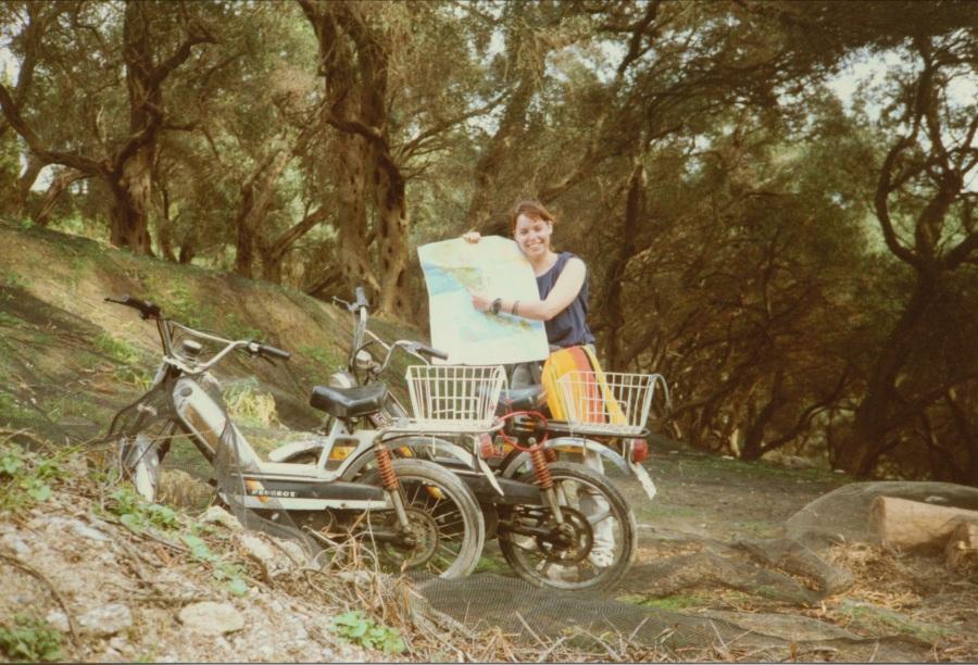 Corfu moped