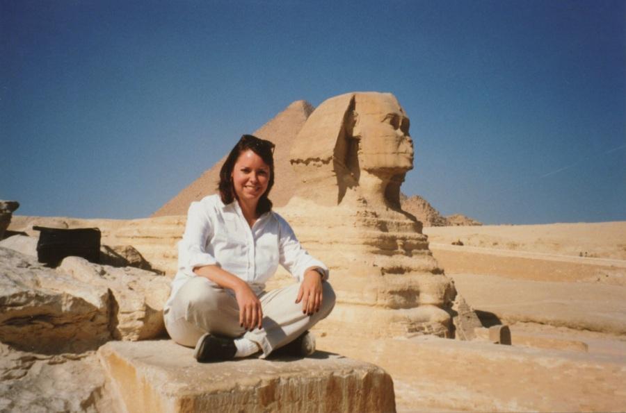 Stasha and Sphinx