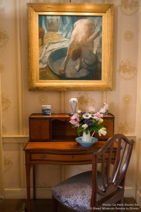 Hillstead Museum The Bather by Degas Parlor Bedroom photo by Christine Petit