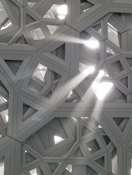 Louvre Abu Dhabi by Anastasia Mills Healy