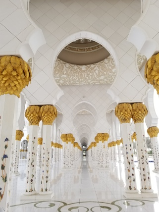Sheikh Zayed Grand Mosque, Abu Dhabi photo by Anastasia Mills Healy