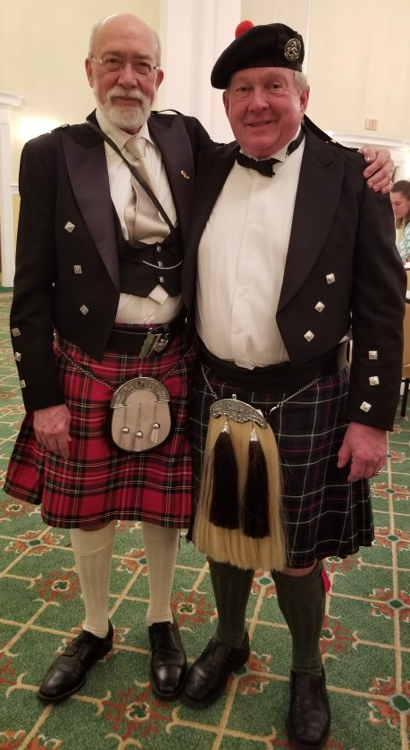 handsome in kilts