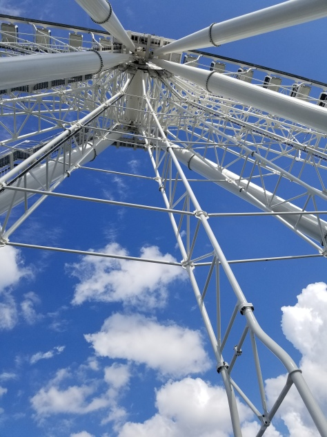 La Grande Roue -- a 20-story Ferris wheel in Montreal. Photo by Anastasia Mills Healy