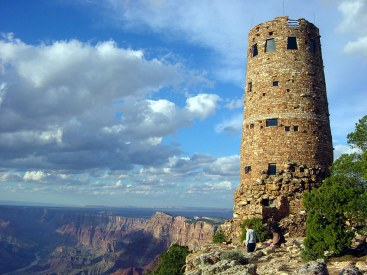 Desert View tower South Rim Grand Canyon, courtesy Grand Canyon