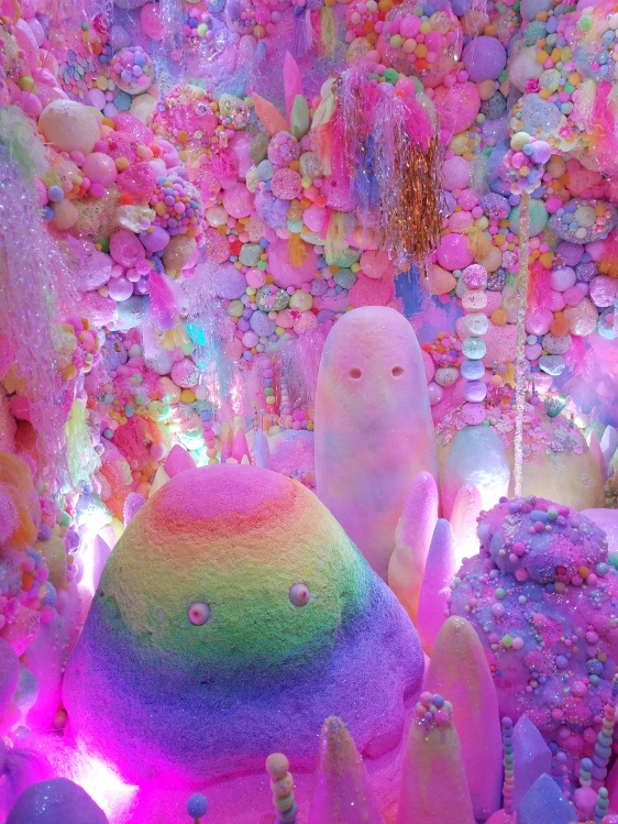 Meow Wolf artists love color. Photo by Anastasia Mills Healy