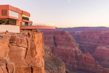 Skywalk at Grand Canyon West, courtesy Grand Canyon West