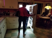 You can walk right into the refrigerator. Photo by Anastasia Mills Healy