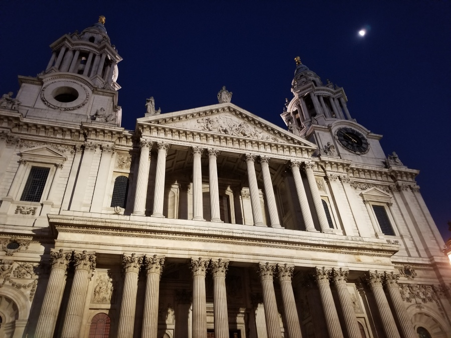 St. Paul's after Evensong. Photo by Anastasia Mills Healy.