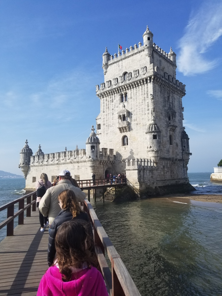 Belem Tower, Lisbon. Photo by Anastasia Mills Healy