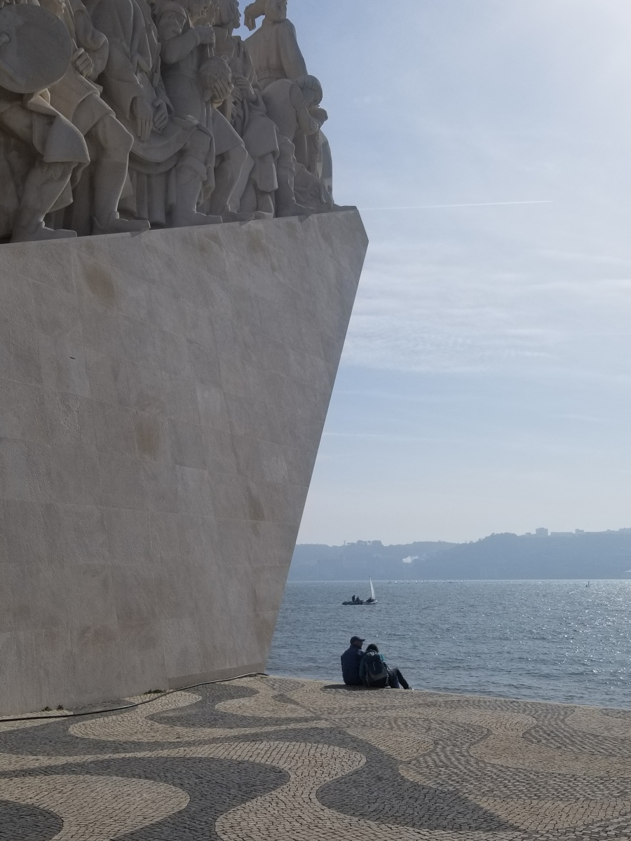 Monument to the Discoveries (Padrao dos Descobrimentos), Lisbon, Portugal. Photo by Anastasia Mills Healy