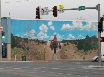 Mural in Cortez, Colorado