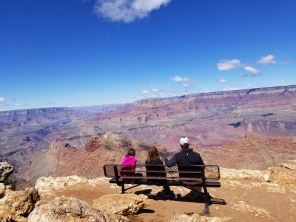 Family taking in the view. Photo by Anastasia Mills Healy